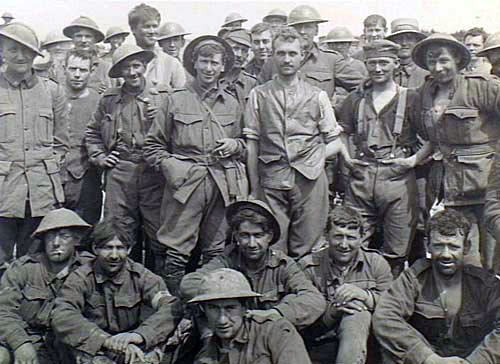 Australian Diggers in France. Source: AWM.