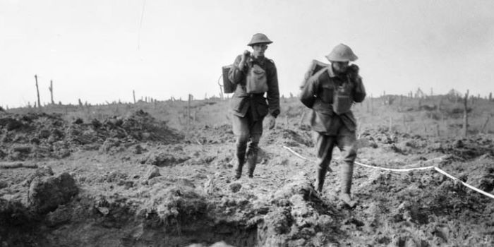 Australian soldiers World War One