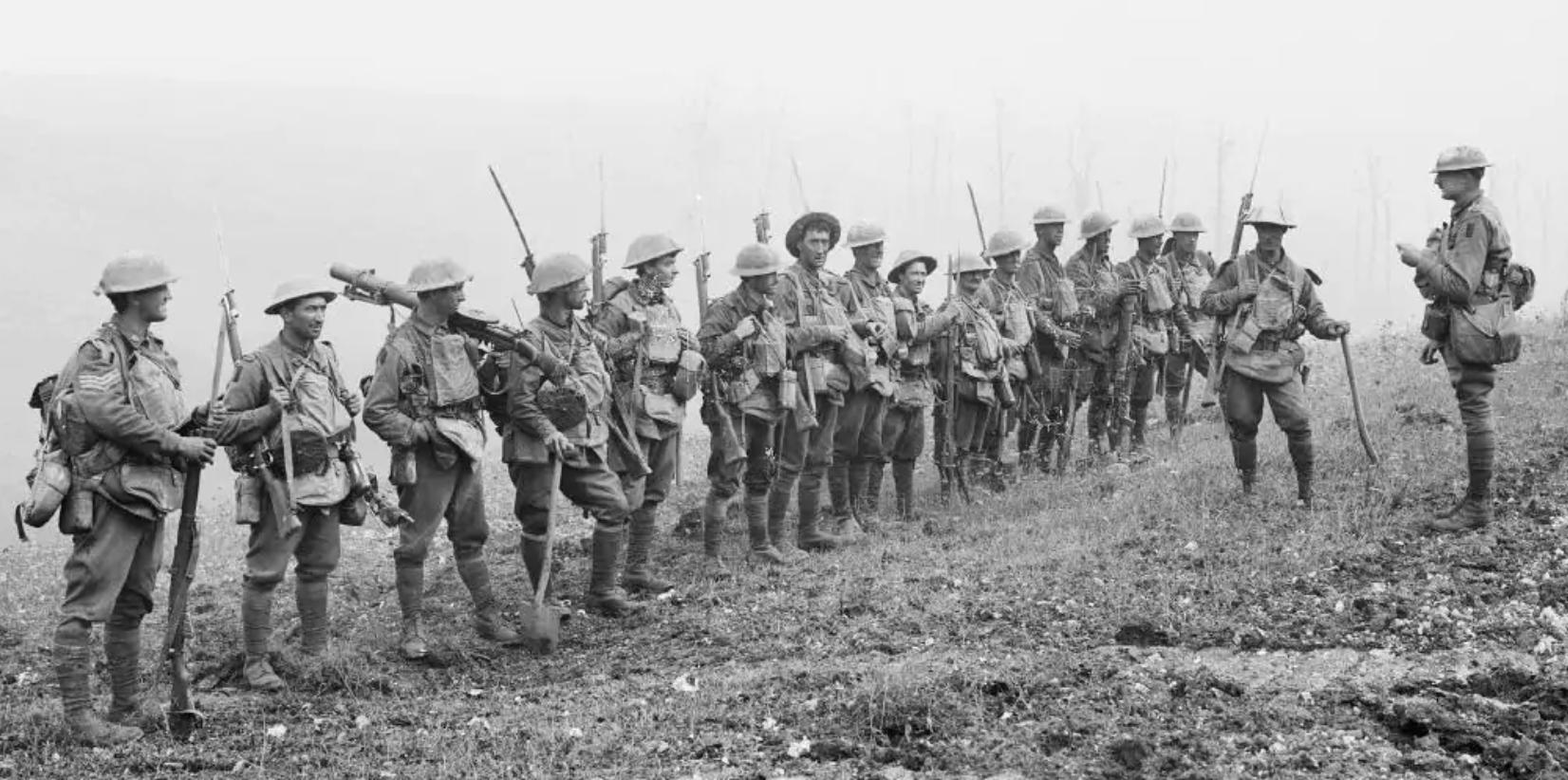 Australian soliders WW1