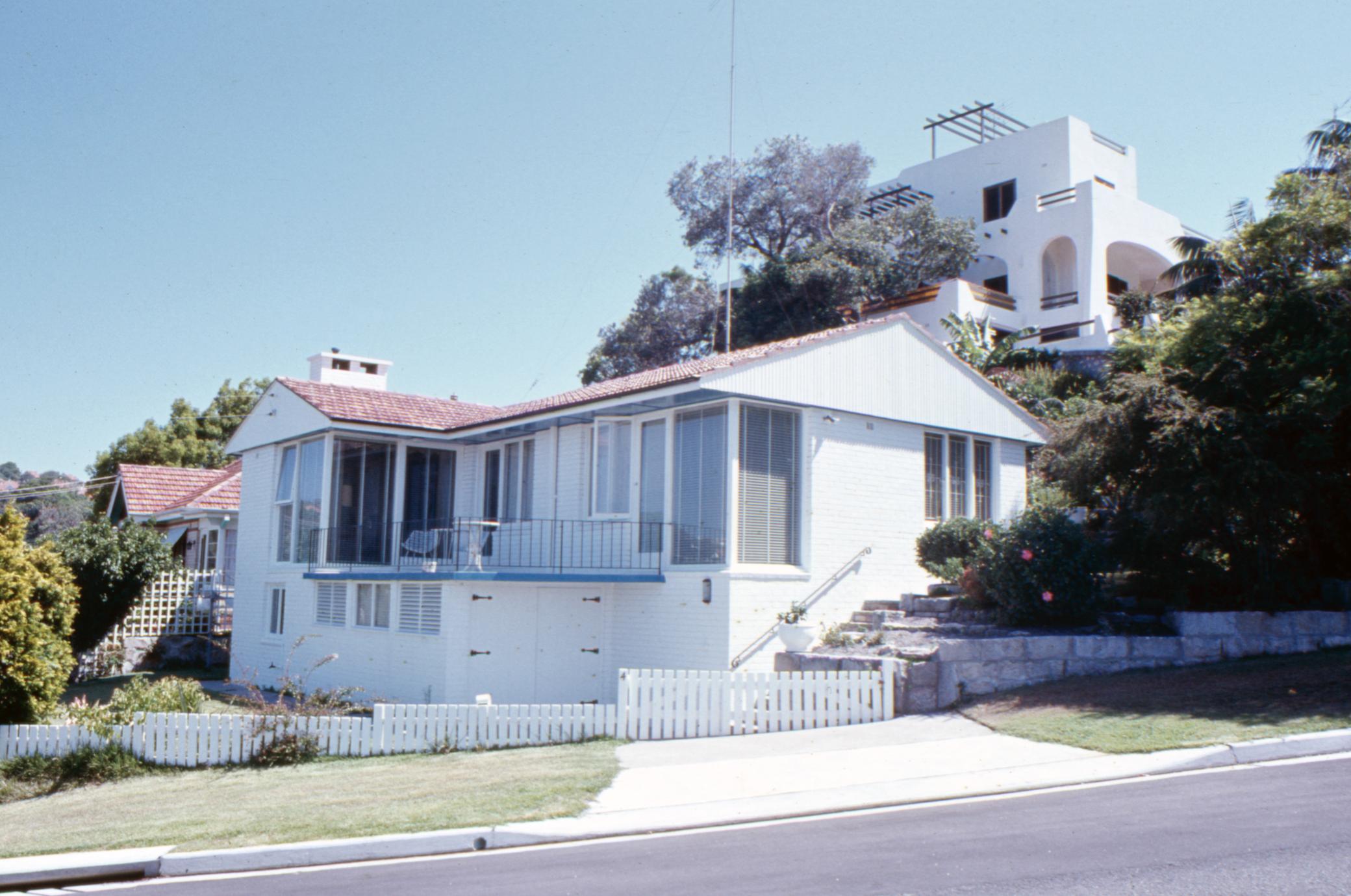 4 Balmoral Ave in the 1970s.