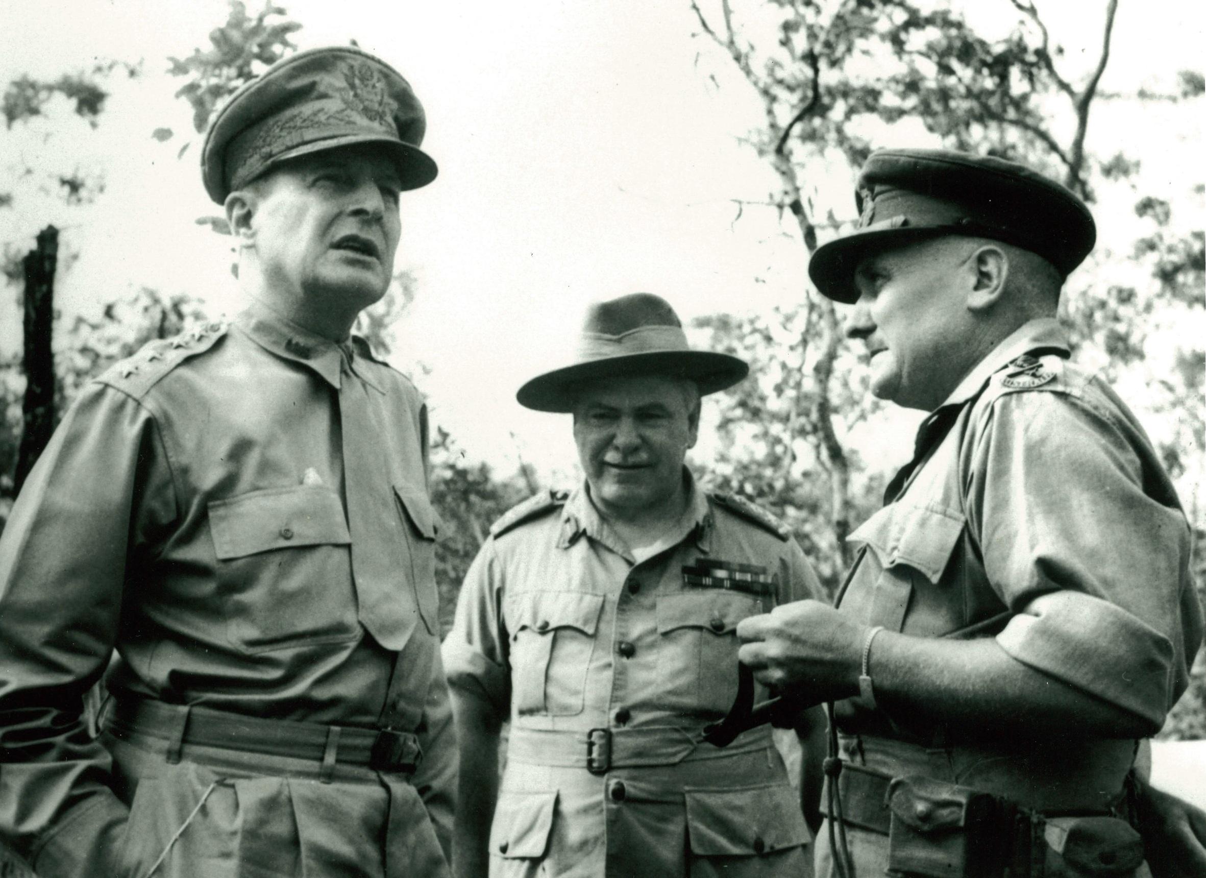 Maj-Gen Arthur 'Tubby' Allen during WWII.