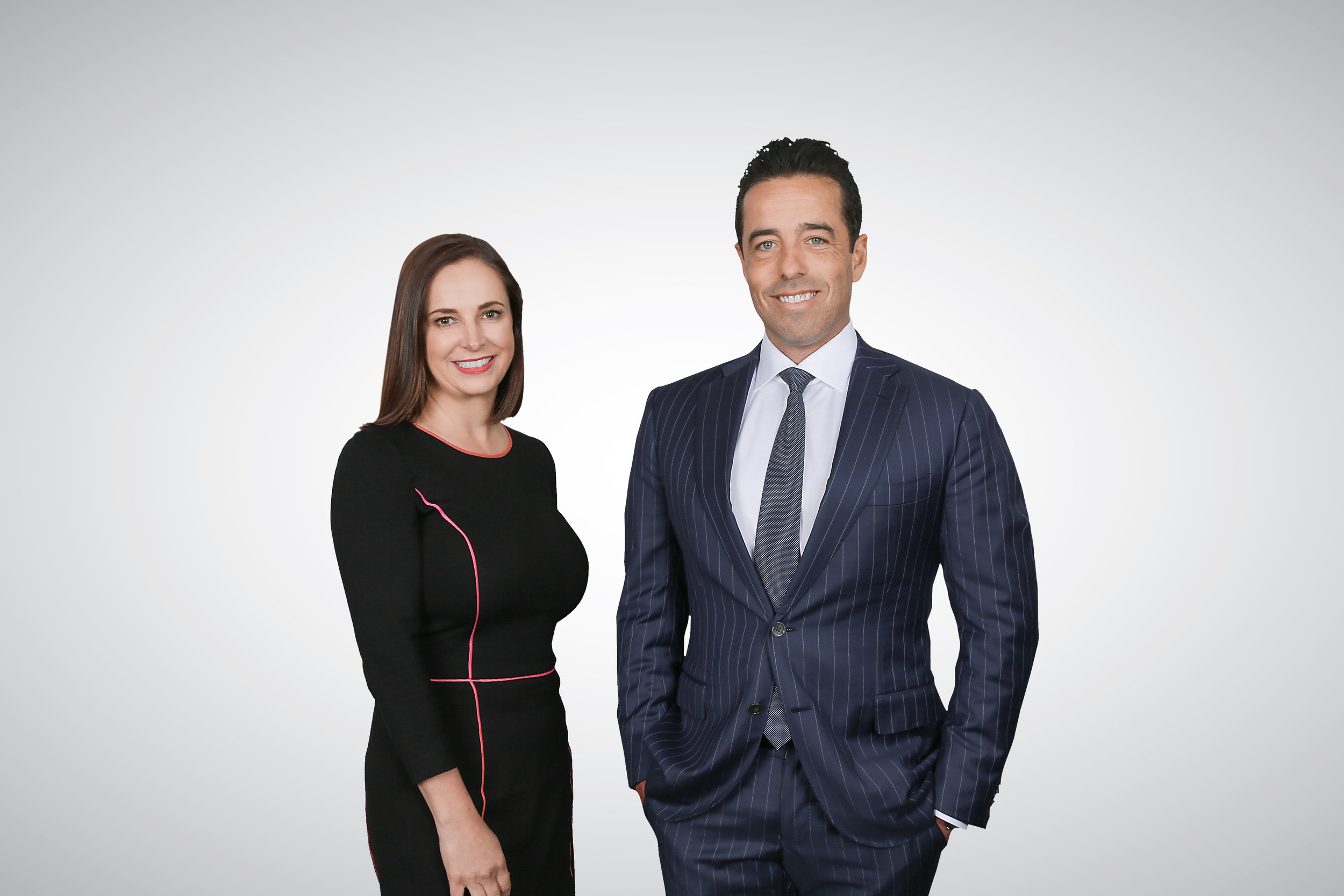 After much speculation, Mosman real estate agents Priscilla Schonell and Grant Simpson announced their new partnership today.
