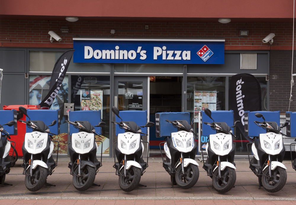 THEFT: Domino's motorbikes similar to these were stolen from the North Sydney store. (Stock image)