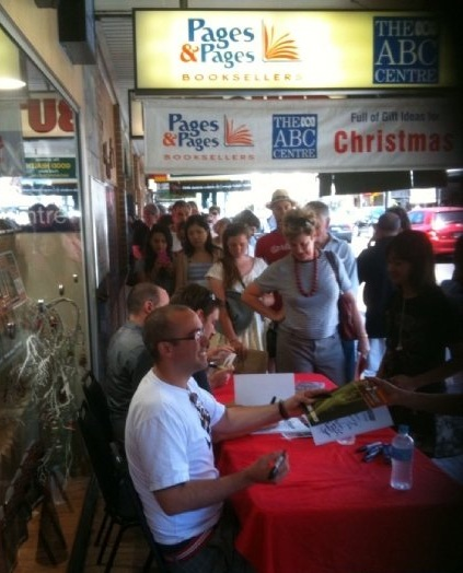 Book signings once attracted huge crowds to Pages & Pages.