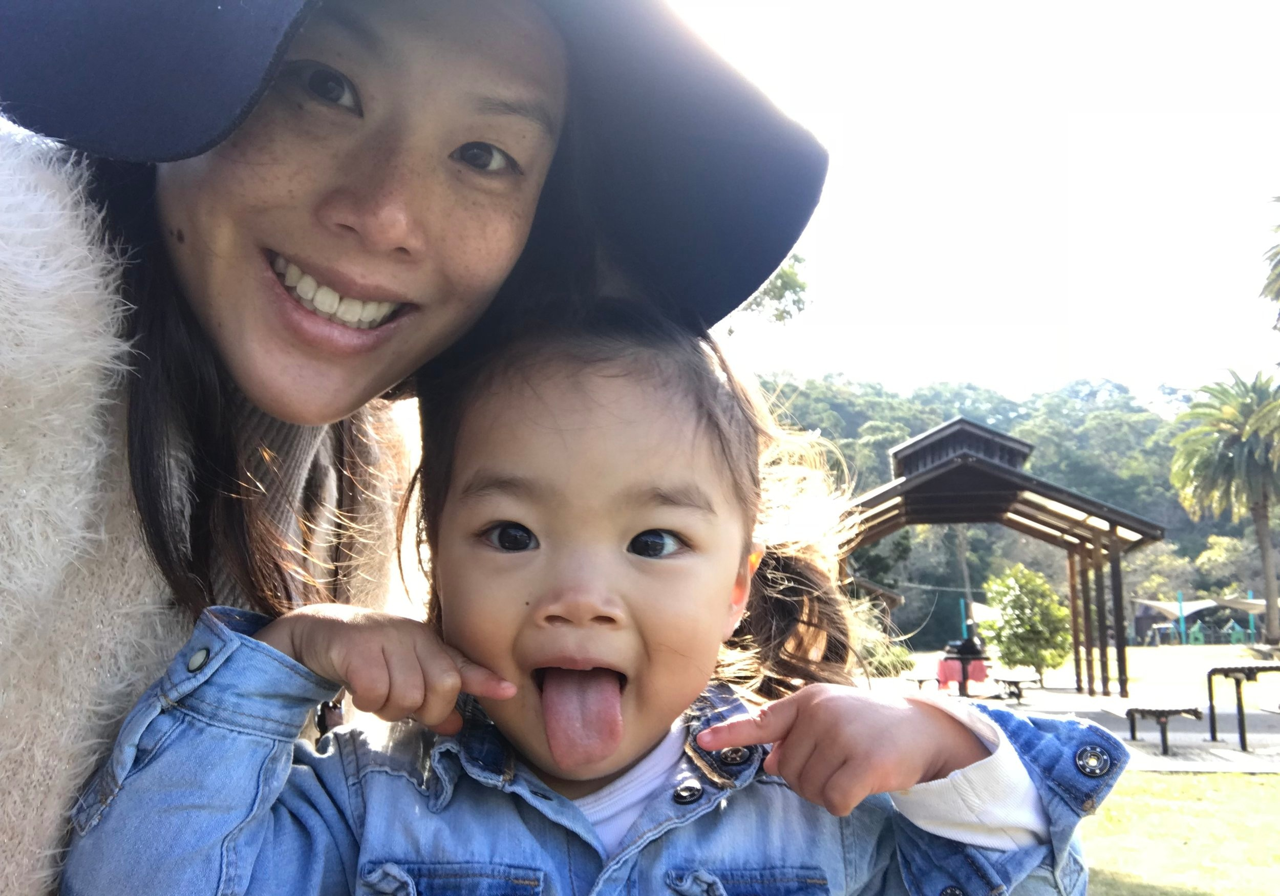 Local mum Alison Lee and baby Ariella.