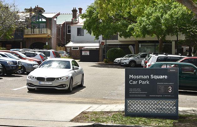 parking mosman