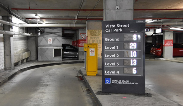 VISTA ST CARPARK: Report says it has a high level of over-stayers.