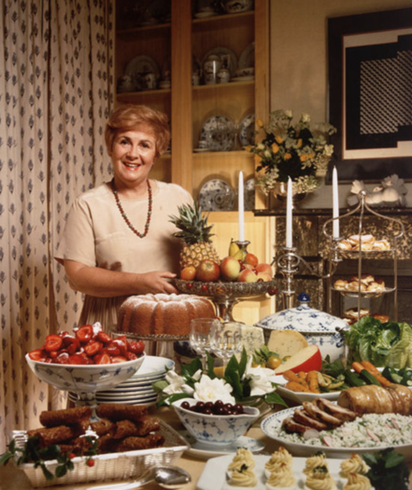Margaret Fulton in the 1960s. Image: National Portrait Gallery.