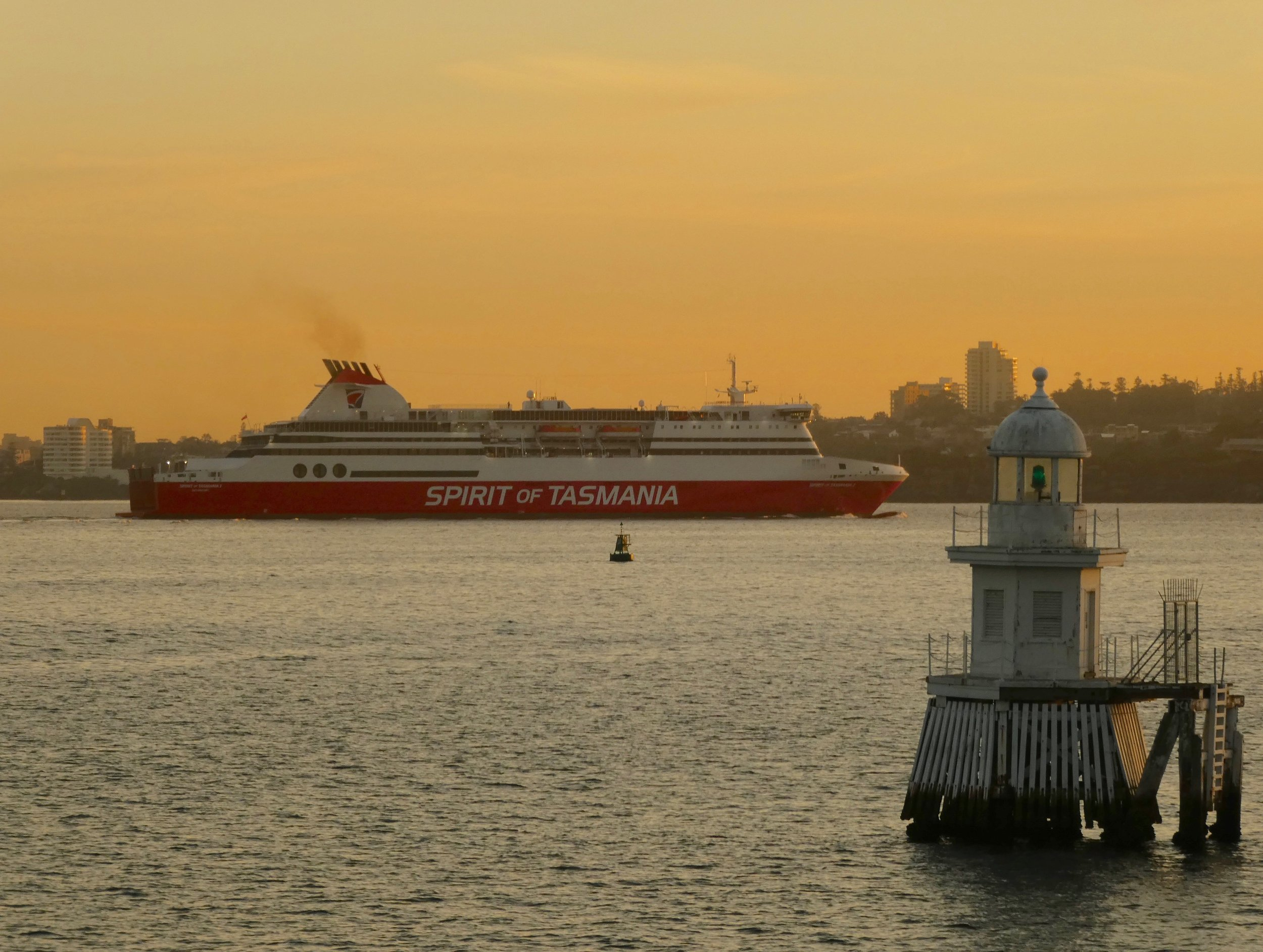 Spirit of Tasmania in Sydney Harbour