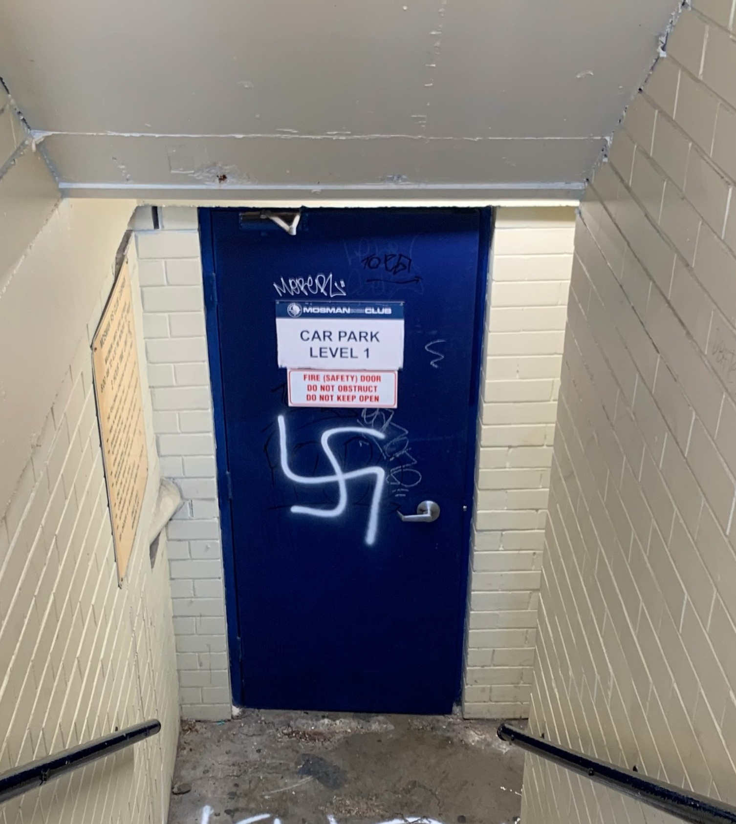 Mosman+RSL+hit+by+nazi+vandalism