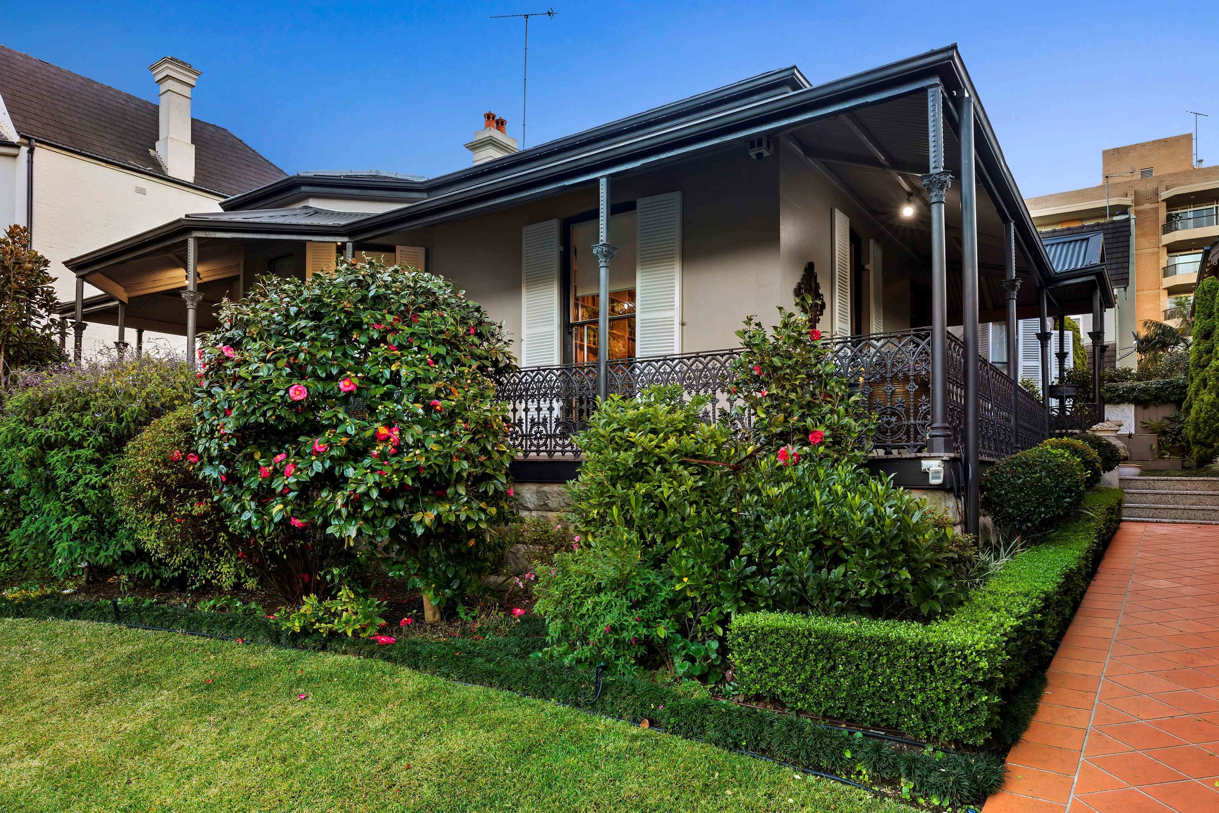 124 Wycombe Rd, Neutral Bay is one of the lower north shore's most significant properties.