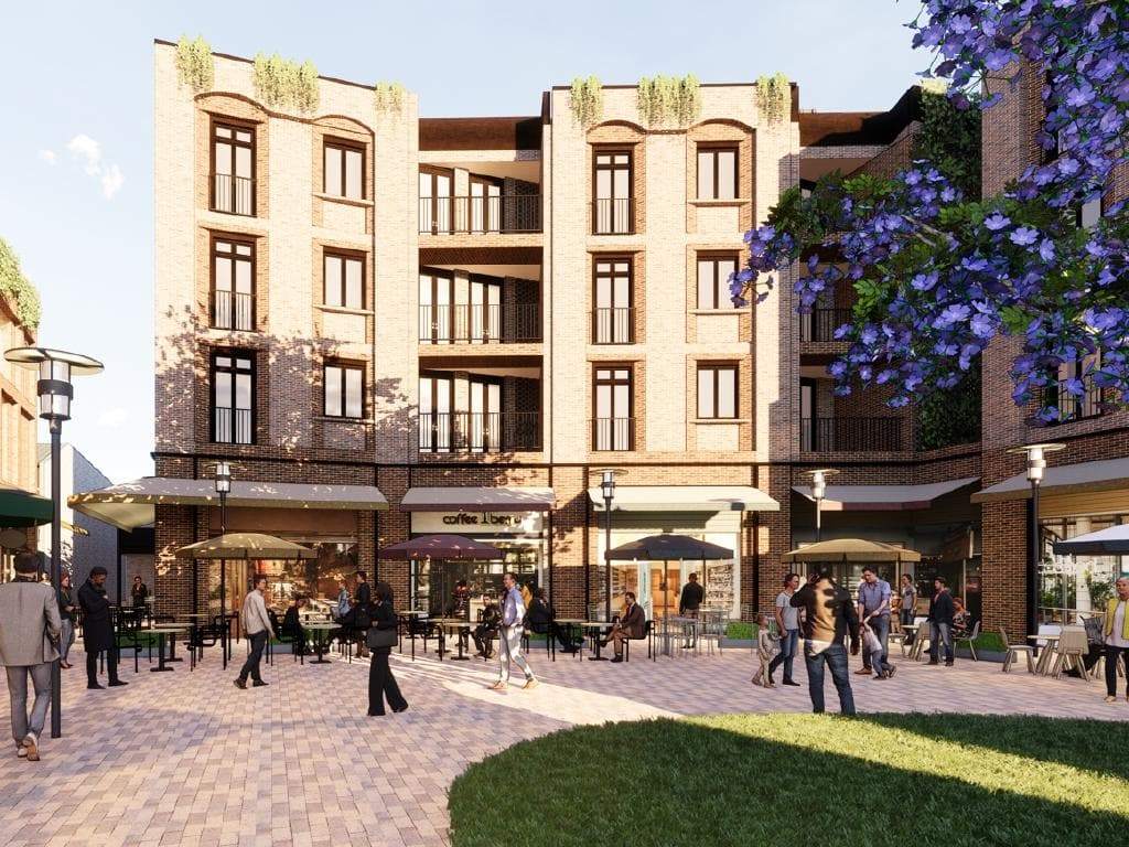 Concept plans of Woolworths Mosman