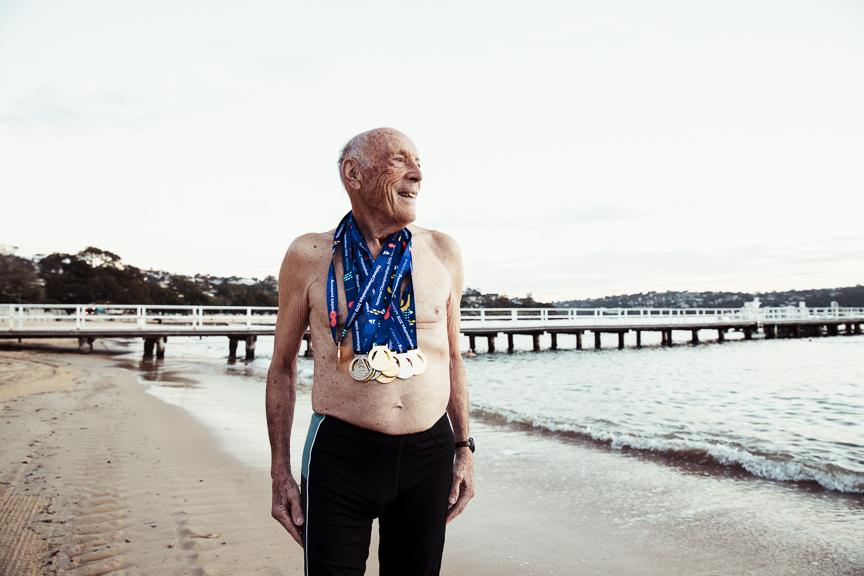 Australian Swimming Champion Bill Walker