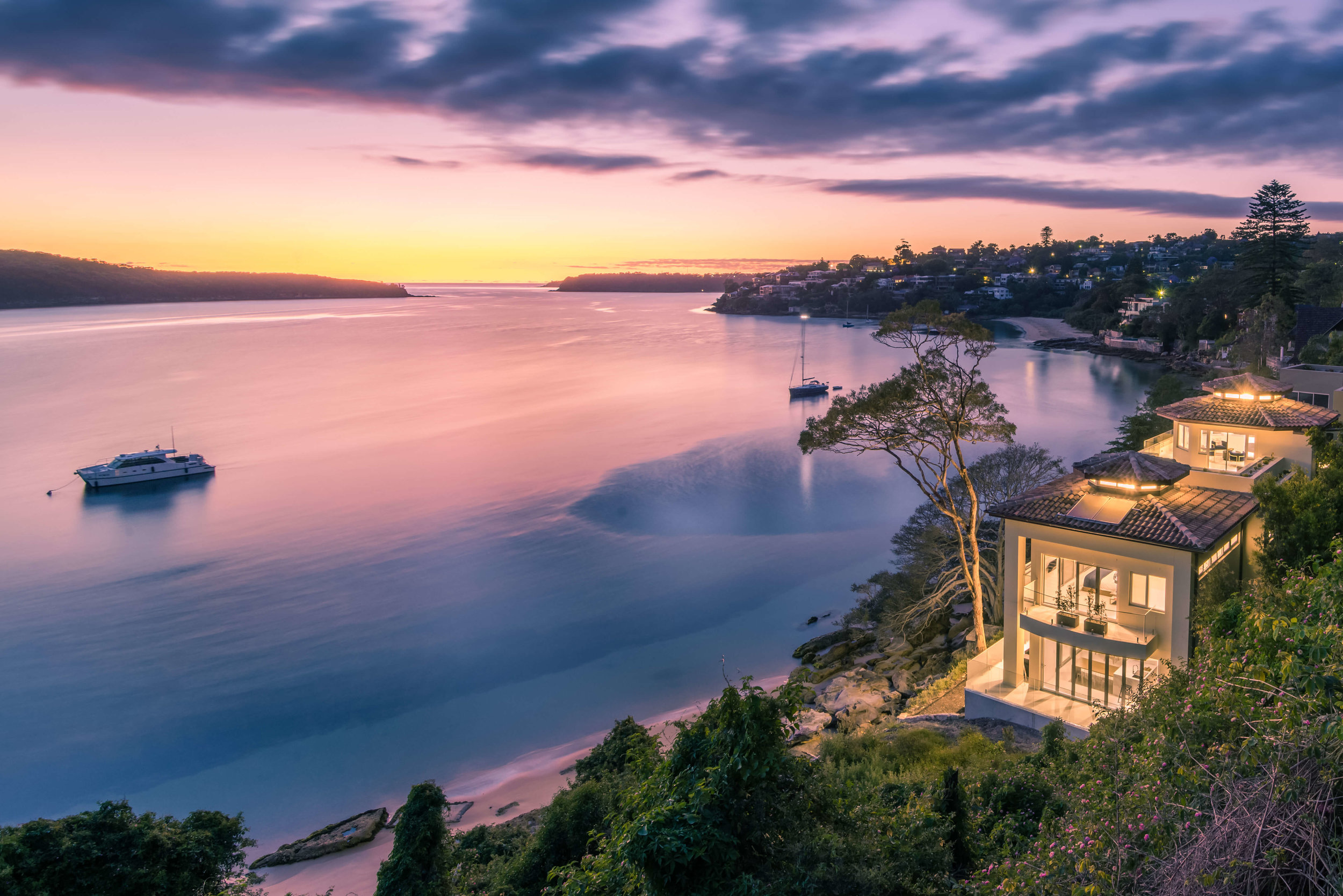 Australia's best residential property for 2019 is 'Villa Aqua' in Mosman.