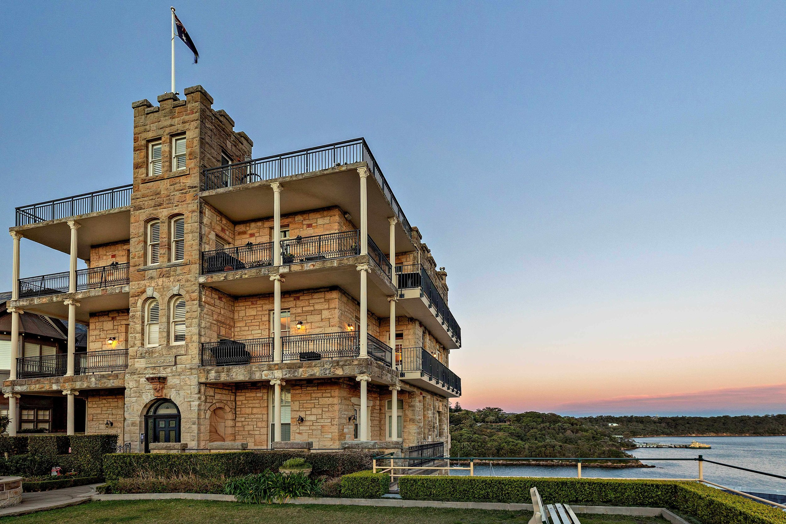 """THE CASTLE"": A rare chance to buy an incredible piece of history exists at 5/3 Raglan St, Mosman."