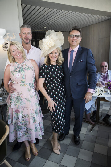 Melbourne Cup revellers at The Buena.