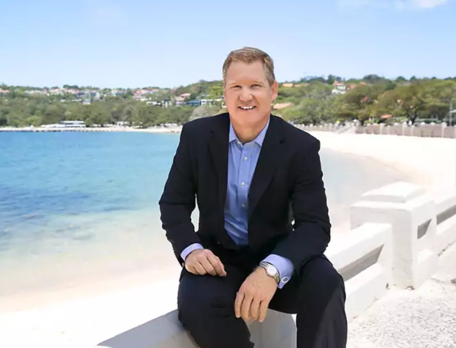 """""""It's one of Sydney's finest properties, with an absolute waterfront position that showcases postcard views from all angles"""" - Geoff Smith: Director, Ray White Mosman."""