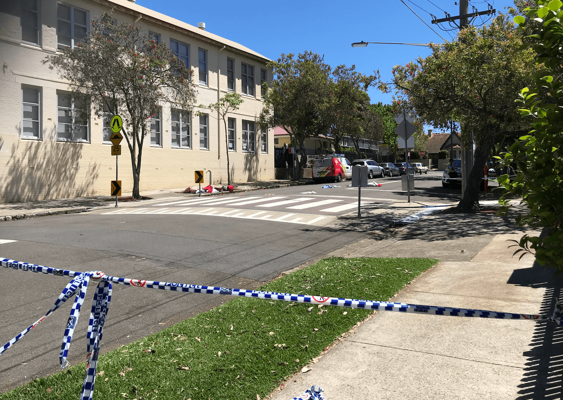 SHOCKING: Three people knocked down in a Neutral Bay school zone today.