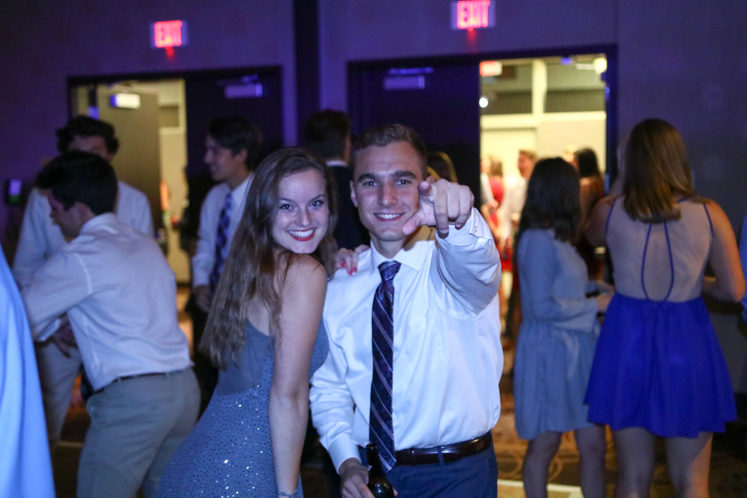 Consul Mirkovic busting out some moves on the dance floor during last year's Sig Sig event.