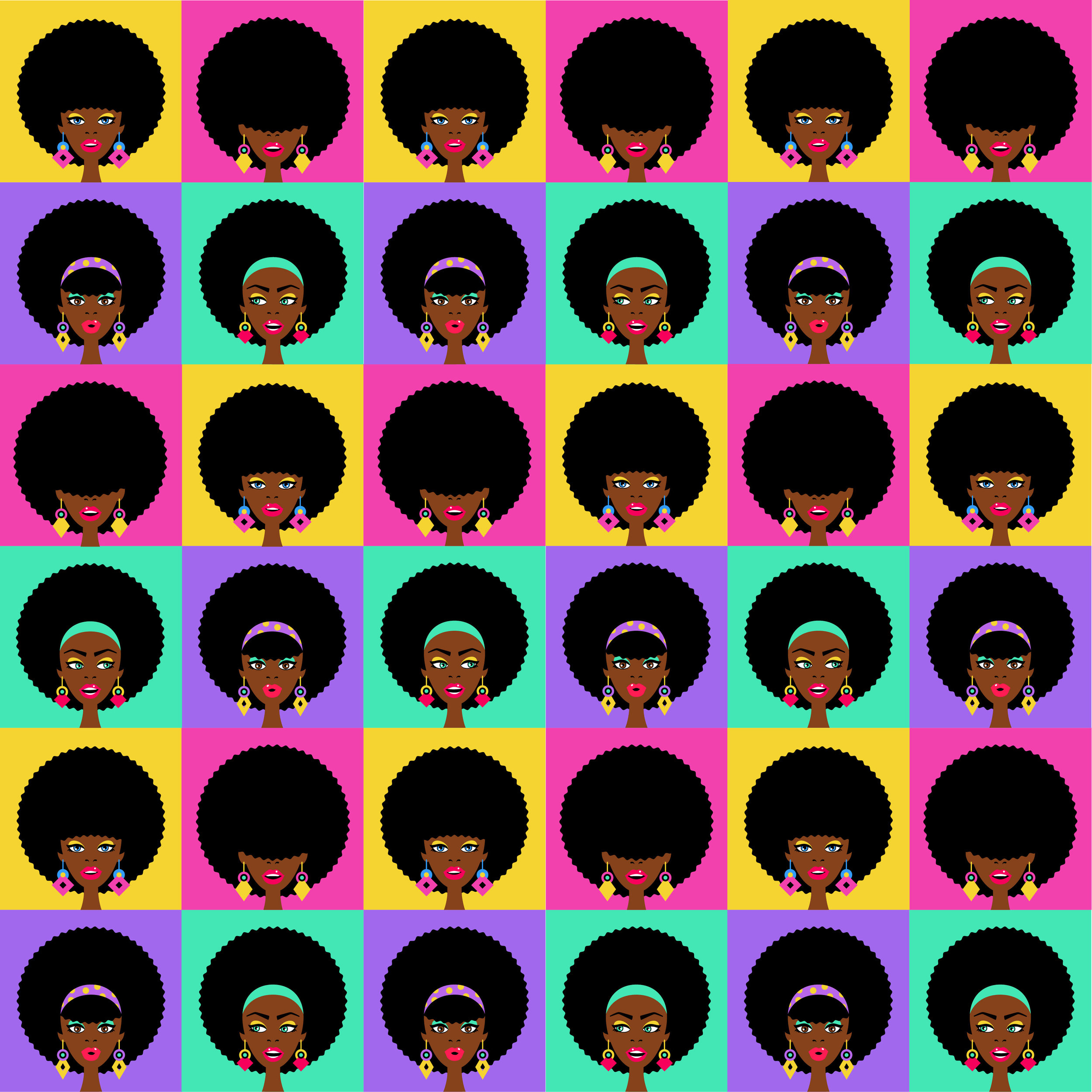 Afro chick wrapping paper.jpg