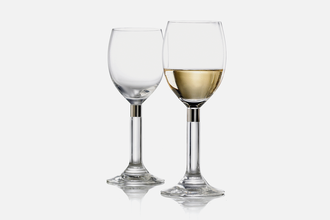 White wine glass - 2 pcs, 32 clGlass & steelDesign by Erik BaggerArt. no.: 52207