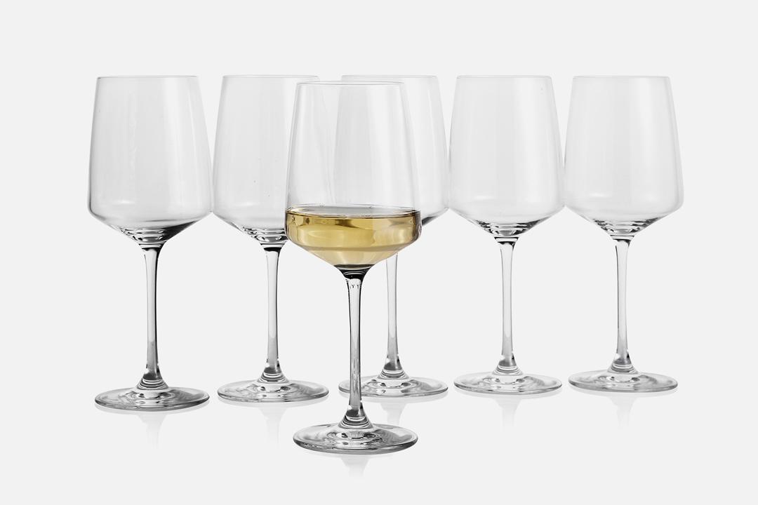 White wine glass - 6 pcs, 40 clGlassDesign by eb design teamArt. no.: 90201
