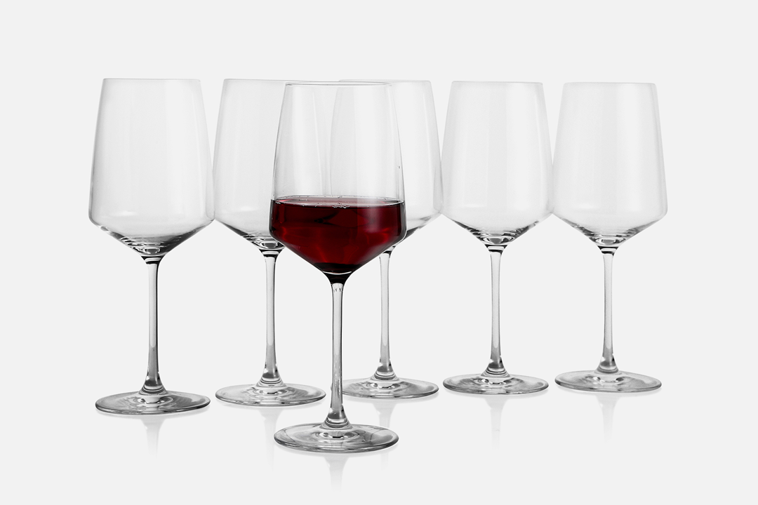 Red wine glass - 6 pcs, 52 clGlassDesign by eb design teamArt. no.: 90200