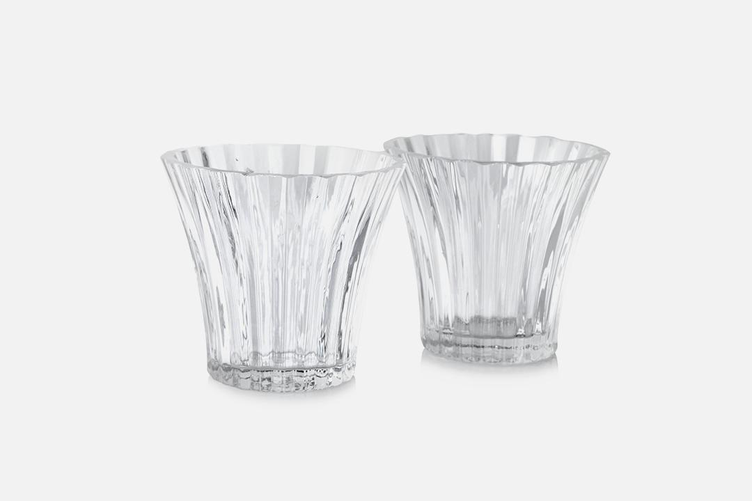 Tealight holders - 2 pcs, 8 cmGlass, clearDesign by Christel og Christer HolmgrenArt. no.: 55211
