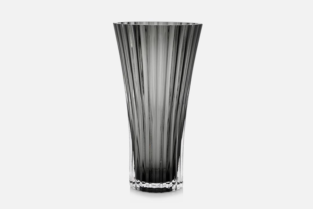 Vase - 1 pcs, 23 cmGlass, greyDesign by Christel og Christer HolmgrenArt. no.: 55206