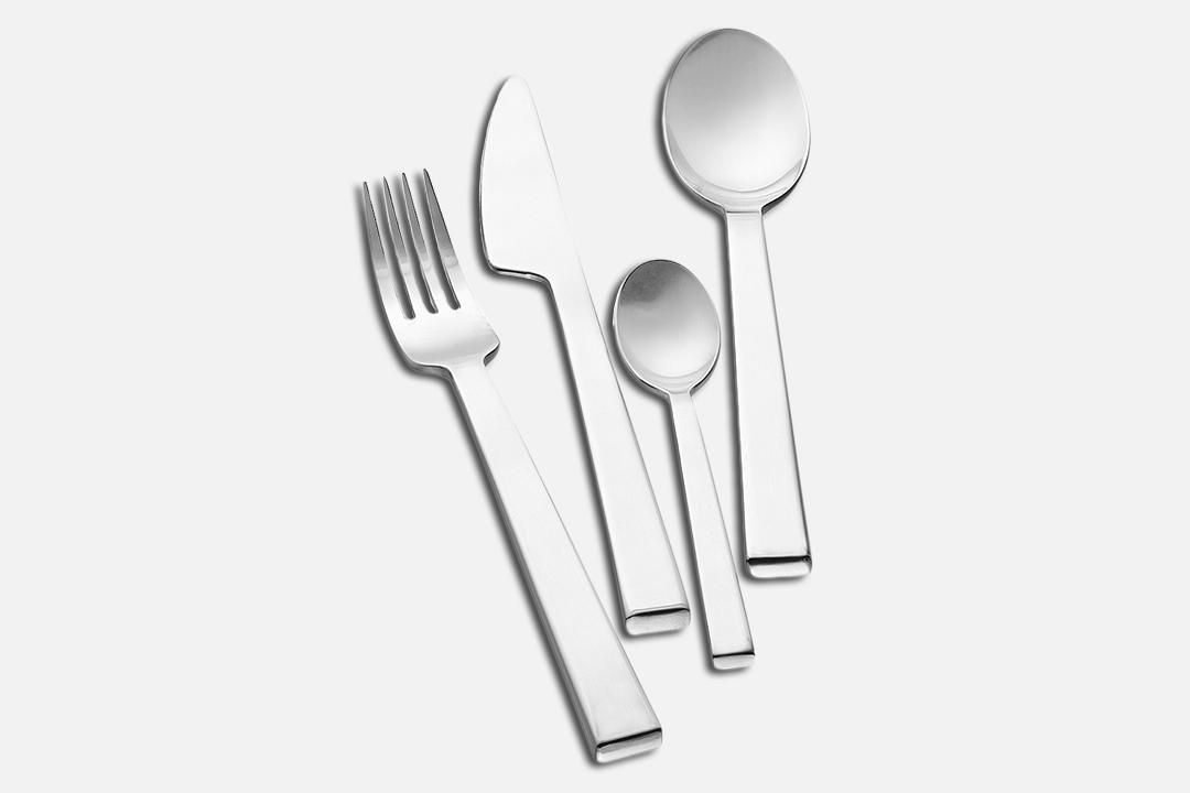 Cutlery - 16 partsStainless steelDesign by Erik BaggerArt. no.: 30126