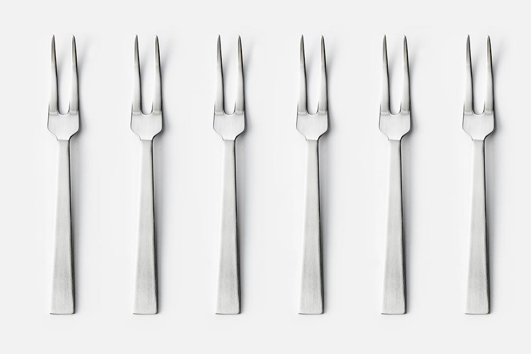 Serving fork - 6 pcsStainless steelDesign by Erik BaggerArt. no.: 30109