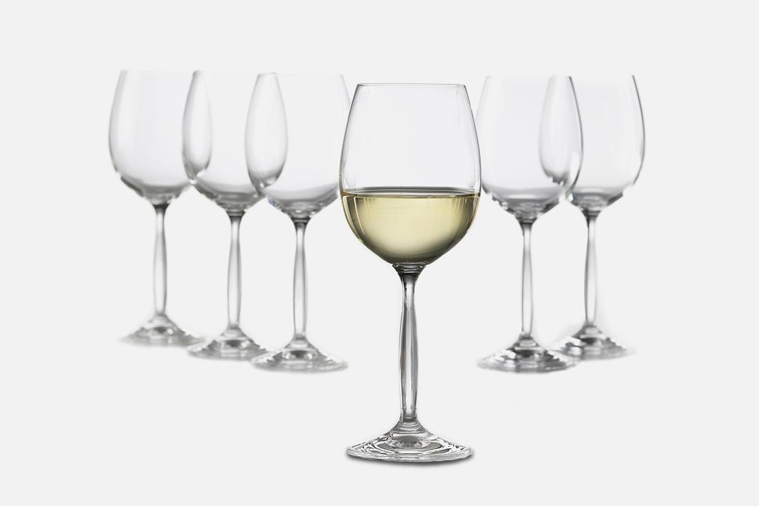 Hvidvinsglas - 6 stk, 37 clGlasDesign by Erik BaggerArt. nr.: 50122