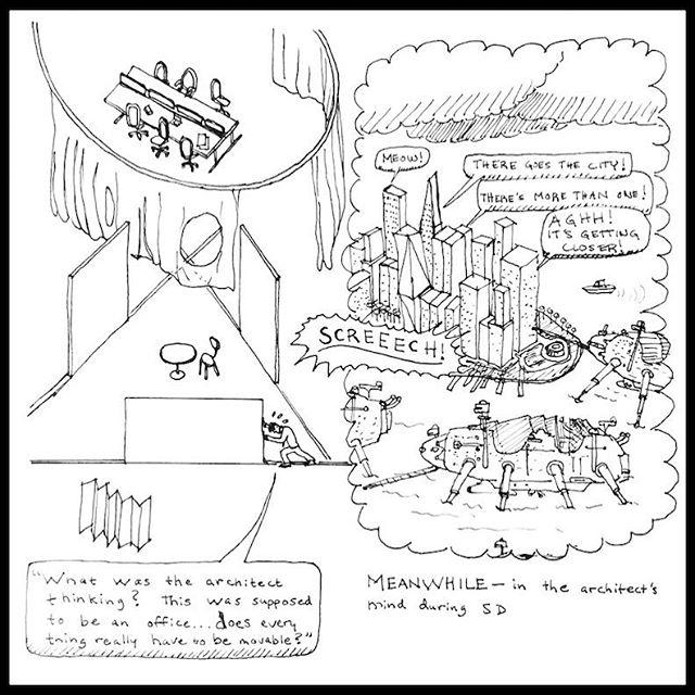 """Moveable Architecture"" by Brendan Pettersen, pulp 52"