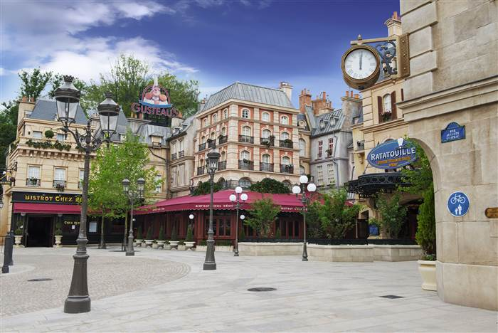True to the story: Disney Ratatouille, Paris