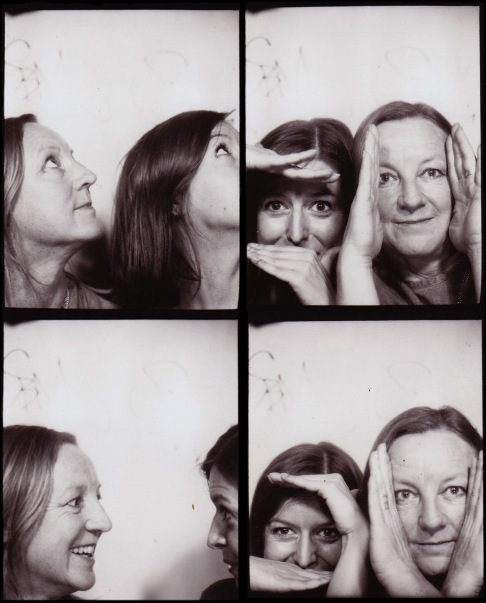 Sophie Lovell (bottom left) and Fiona Shipwright (to her right) in a Berlin photo-booth.   Links: Sophie:  website  /  uncube  /  &beyond  * Fiona:  website  /  uncube  /  &beyond