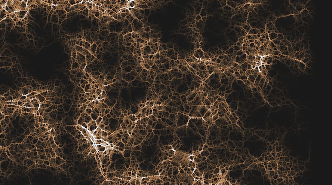 Thinking systematically: Pressure visualized grain simulation