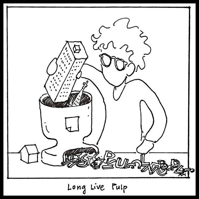 Until next time.... cartoon by Anne Ma, pulp 59  @weirdoforest