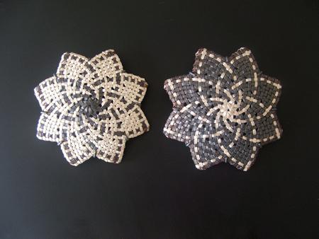 Whetu, 2010  Fine Silver, Copper, Oxidised Sterling Silver