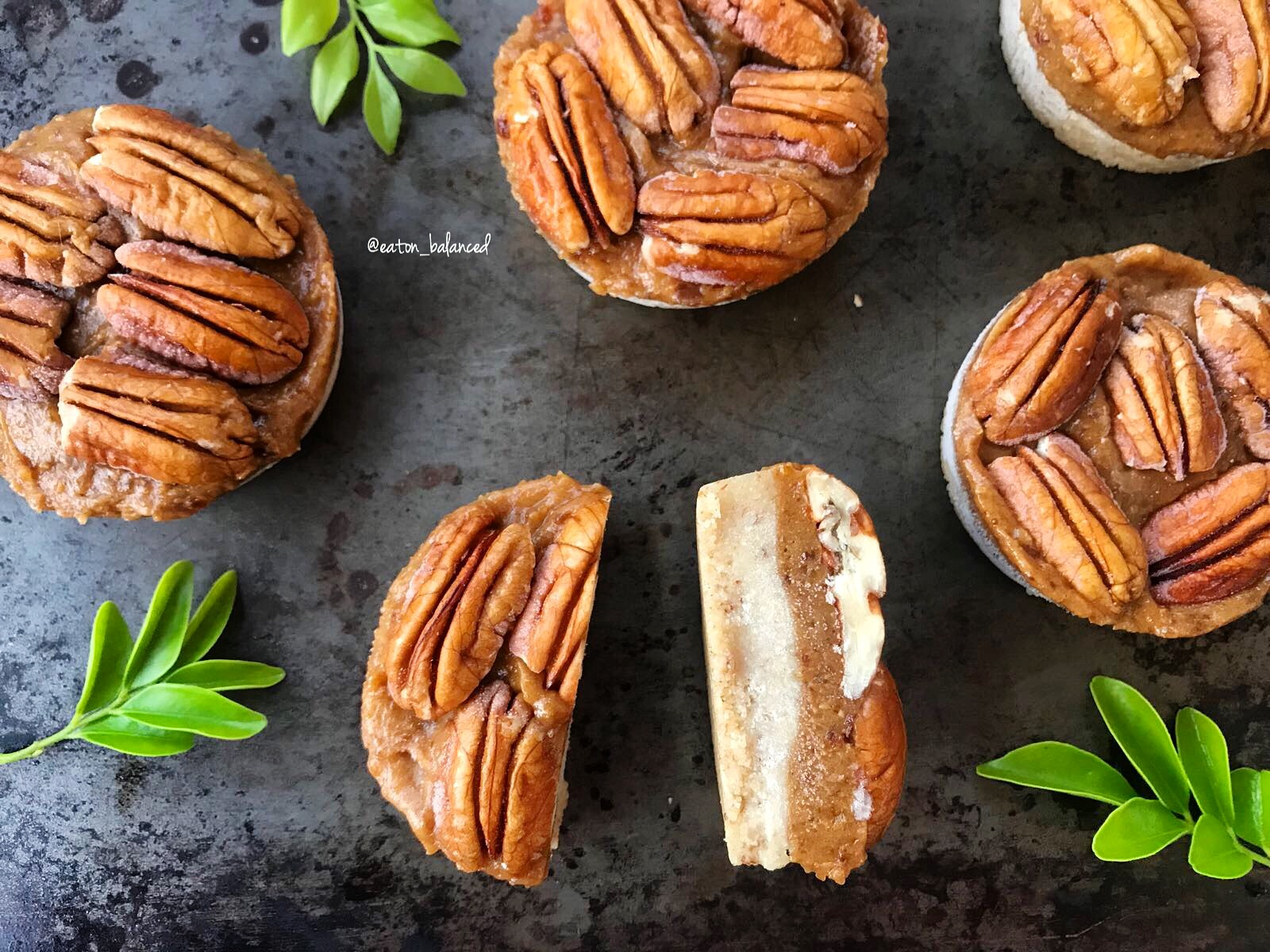 Pecan and Date Tarts