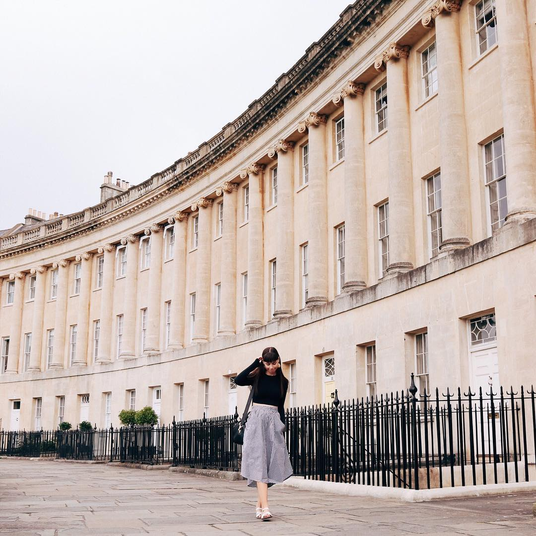 12/ Visited Bath - The city of Bath in England had been on my list for a long while. Being a Jane Austen fan, I'd always wanted to see the various sites written about in her books.