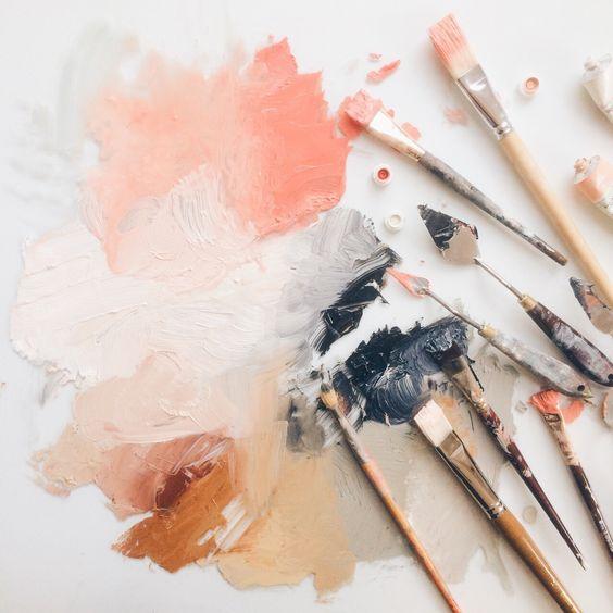 paint the colour -