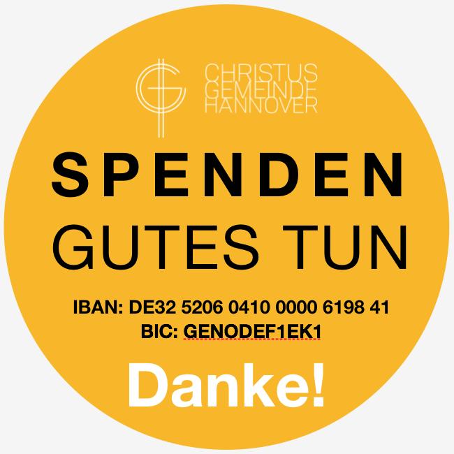 Christus-Gemeinde Hannover - Spenden Logo Grau.png