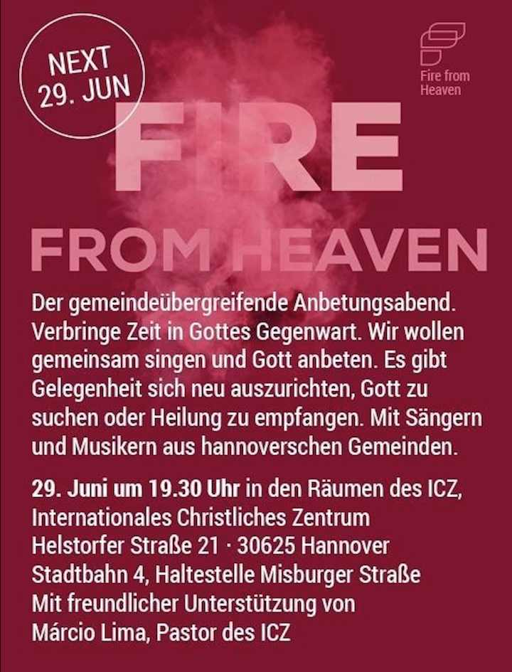Christus-Gemeinde Hannover - Fire from Heaven .png