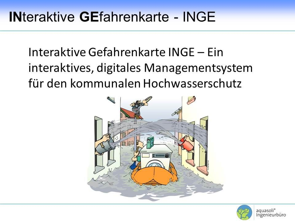 Hochwassermanagementsysteme