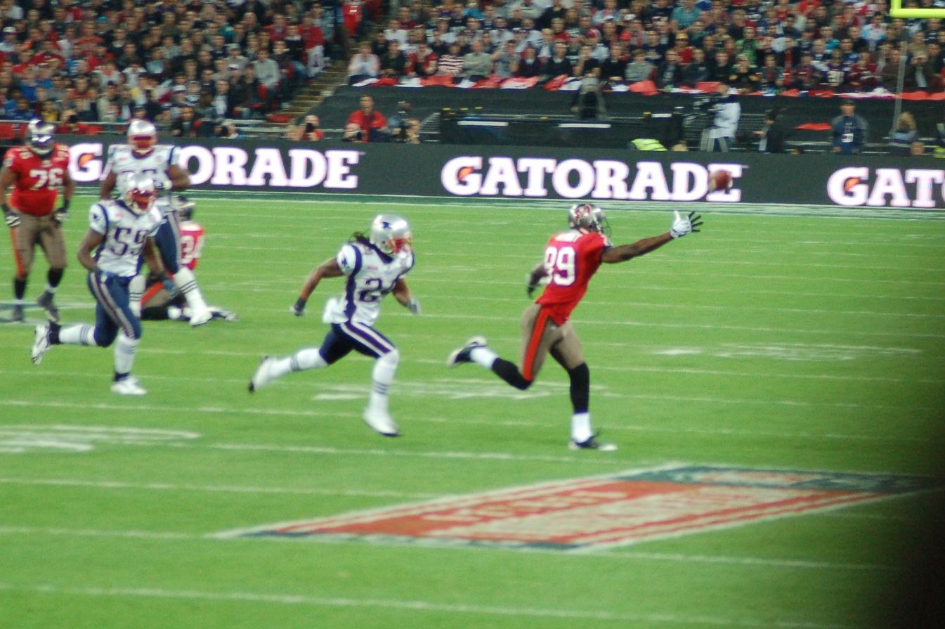 NFL Patriots v Buccaneers Wembly 25th Oct 09 034.JPG