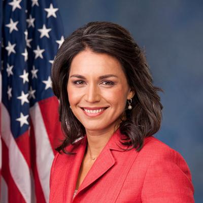 Tulsi Gabbard - Hawaii, 2nd District. House.(D)