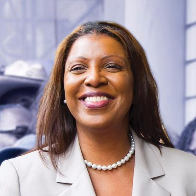 Letitia James - New York, Attorney General. House. (D)