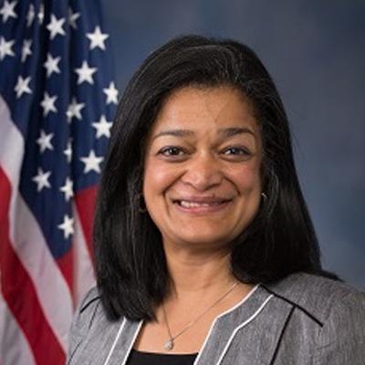 Pramila Jayapal - Washington, 7th District. House. (D)