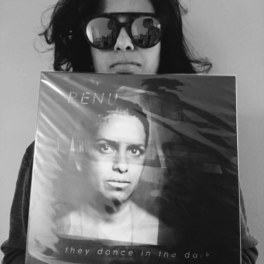 RENU with her Record
