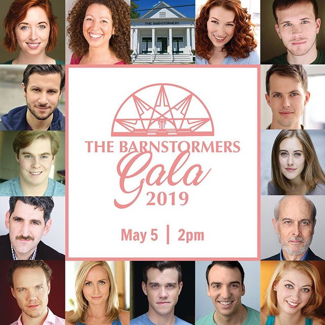 Tomorrow is the day (May5th at 2pm) Get your tickets to the hilarious Barnstormers Gala before they run out!  Link in Bio